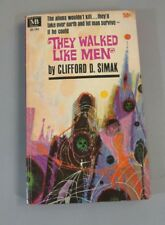 They Walked Like Men by Clifford Simak 1962 Books Paperback