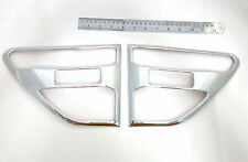 CHROME SIDE VENT SIDE DOOR COVER TRIM FOR NEW FORD RANGER 2013 WILD TRAK PICK UP