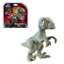 dinosauro jurrasic world STRETCH BLUE giocattolo allungabile per bambini 4 anni