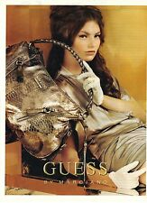 PUBLICITE ADVERTISING 2007  GUESS sacs cuir by MARCIANO