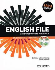 ENGLISH FILE Upper-Intermediate Third Edition MultiPack B +iTutor +iChecker @NEW