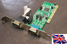 PCI RS422 RS485 2 Serial Port Card 16C1050