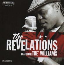 THE REVELATIONS - Concrete Blues (feat. Tre Williams) CD 011 Decision DIGI