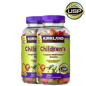 Kirkland Signature Children's Complete Multivitamin Healthy Growth, 320 Gummies