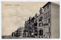 Westende, Belgium / Belgie / Belgique vintage Postcard CPA - La Digue