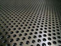Balkonverkleidung Alu Lochblech 1000 mm x Wunschbreite x 2,0mm (RV5-8) Neuware