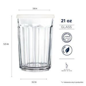 ⭐️ Luminarc Arc International Working Glass Storage Jar/Cooler w/ Lid 21 oz