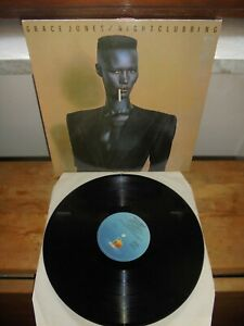 "Grace Jones ‎""Nightclubbing"" LP  Island Records ‎– ORL 19624 ITA"