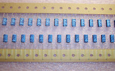 QTY (100)  220uf 10V RADIAL ELECTROLYTIC CAPACITORS 10TWSS220M6.3X11.5 RUBYCON