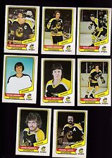 1976 O-PEE-CHEE WHA Team SET Lot of 8 Cincinnati STINGERS NM OPC DUDLEY SOBCHUK