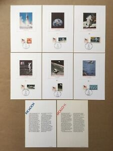 """1979 """"10th Anniversary of the Man on the Moon"""" Fleetwood Event Proof Set w/Info"""