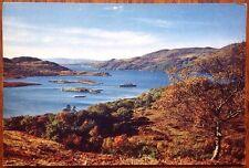 Kyles Of Bute, The Narrows Clyde Pleasure Steamer Vintage Postcard Scotland