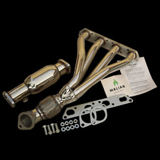 Mini Cooper/Cooper S R53 1.6L Race Tubular Stainless Exhaust Manifold + Decat...