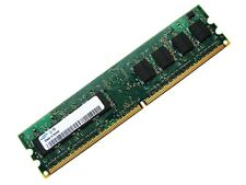 Samsung M378T5663QZ3-CE6 PC2-5300U-555 2GB 2Rx8 DDR2 RAM Memory, 667MHz CL5