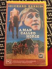 A MAN CALLED HORSE RICHARD HARRIS FOX 1991 RELEASE RARE PAL VHS VIDEO