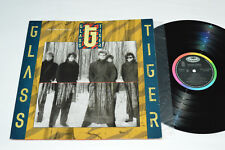 GLASS TIGER The Thin Red Line LP 1986 Canada Rock Band VG/VG Don't Forget Me