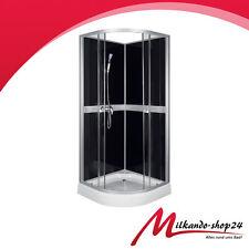 Dusche Duschkabine Echt Glass Duschabtrennung Duschwanne 90 X 90Komplettdusche
