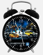 """Transformers Alarm Desk Clock 3.75"""" Home or Office Decor W220 Nice For Gift"""