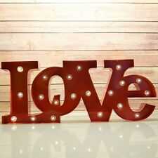 3W LED Marquee Light Red 'LOVE' Word Night Light Landscape Lamp Xmas Decoration