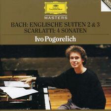 Bach  Englische Suiten 2&3 / Scarlatti  4 Sonaten Ivo Pogorelich MADE IN GERMANY