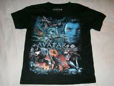 Avatar Jake Sully Mech AMP Suit Banshee Navi Black Tshirt Boys Large 14-16 used