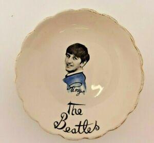 Ringo Starr Beatles Washington Pottery Candy Dish Sweet Trinket Bowl Plate 12cm