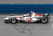 Jenson Benton SIGNED Lucky Strike Honda RA106 , British GP Silverstone 2006