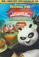 KUNG FU PANDA: LEGENDS OF AWESOMENESS - THE SCORPION STING (DVD + GAME) (B (DVD)