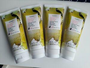 KORRES Natural Ginger Lime Body Milk 4 x 200 ml NEW SEALED