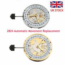Watch Clone 2824 Automatic Movement Perlage Polish Finish Replacement For ETA UK
