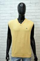 LACOSTE Uomo Maglione Taglia 6 ( XXL ) Pullover Felpa Cardigan Sweater Men