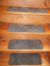 "15 Step Indoor Stair Treads Staircase Rug Carpet  8"" X 24"" + Landing 24''x 24''."
