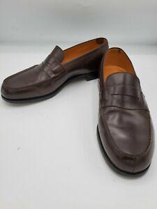 JM Weston moccasin (loafers) size 10 D.