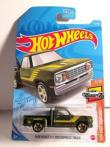 Hot Wheels 2021- 1978 Dodge Li'l Red Express Truck HW Hot Trucks - Treasure Hunt