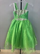 Child's Pageant, Size 4, Lime Green, Lil Anjali, New with tags