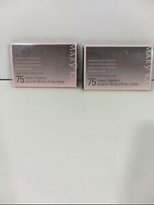 MARY KAY 2 BEAUTY BLOTTERS OIL ABSORBING TISSUES 75 TISSUES NEW IN BOX