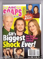 ABC SOAPS IN DEPTH GENERAL HOSPITAL GH BIGGEST SHOCK EVER JULY 2015