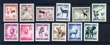 1964 SOUTH WEST AFRICA NATIVE & ANIMAL SET OF 12 MINT HINGED