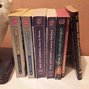 Philip José Farmer - lot de 7 romans format poche - voir détails