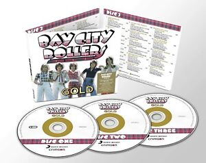 BAY CITY ROLLERS Gold (2019) 50-track 3-CD digipak NEW/SEALED