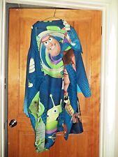 Disney Toy Story kids Fleece Snuggie Snuggy Woody Buzz Light Year EUC