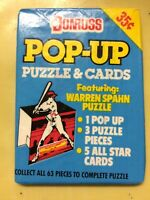 1988 Donruss Pop-Up Puzzle & Cards Pack Dave Winfield Yankees Showing On Back