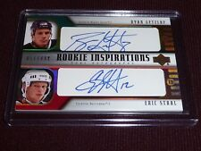 05-06 UD Ryan Getzlaf RC Eric Staal AUTO 51/499 * 1/1 Getzlaf's Rookie Jersey# *