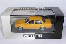 OPEL REKORD 2100 D DIESEL YELLOW 1971 1977 WHITEBOX GELB 1/43 JAUNE LHD LEFT