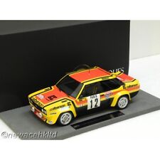 FIAT 131 ABARTH  NO.12  RALLY MONTECARLO 1980 TOP MARQUES MODEL 1/18 #TOP43B