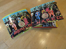 Beatles Sgt. Peppers multi track and naked 2 cds