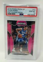 638: Tyler Herro 2019 Pink Pulsar Prizm DP Draft Picks #15 PSA 10 Rookie RC Pop