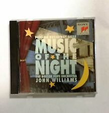 Music of the Night: Pops on Broadway 1990 by John Williams (Film Composer) CD