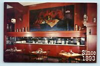 San Francisco, CA - SCHROEDERS CAFE RESTAURANT INTERIOR - KITCHEN - POSTCARD