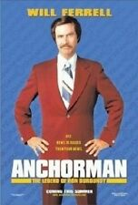 Anchorman : The Legend Of Ron Burgundy (2004) Will Ferrell - NEW DVD - Region 4